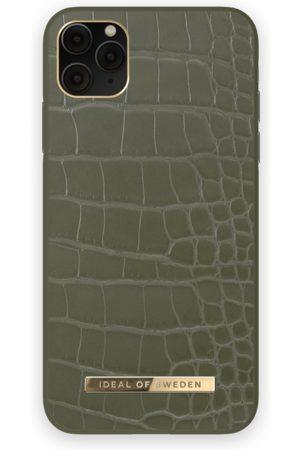 IDEAL OF SWEDEN Telefoon - Atelier Case iPhone 11 Pro Max Khaki Croco