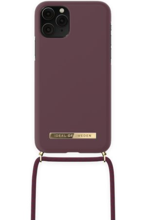 IDEAL OF SWEDEN Ordinary Necklace iPhone 11 Pro Deep Cherry
