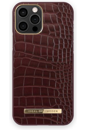 IDEAL OF SWEDEN Atelier Case iPhone 12 Pro Scarlet Croco