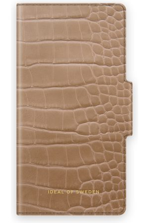 IDEAL OF SWEDEN Atelier Wallet iPhone 12 Pro Max Camel Croco
