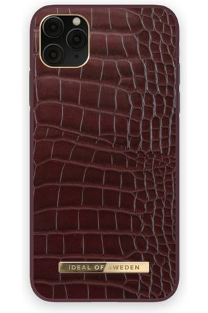 IDEAL OF SWEDEN Atelier Case iPhone 11 Pro Max Scarlet Croco