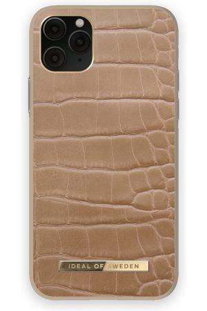 IDEAL OF SWEDEN Telefoon - Atelier Case iPhone 11 Pro Camel Croco