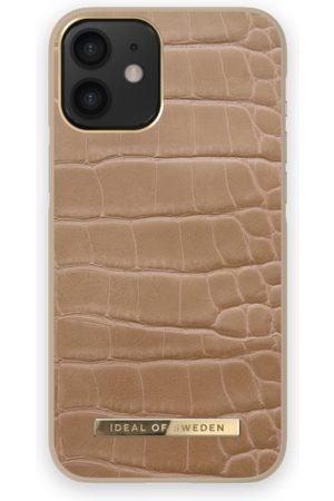 IDEAL OF SWEDEN Telefoon - Atelier Case iPhone 12 MINI Camel Croco