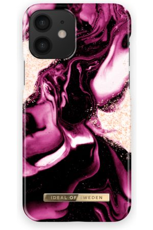 IDEAL OF SWEDEN Fashion Case iPhone 12 Golden Ruby
