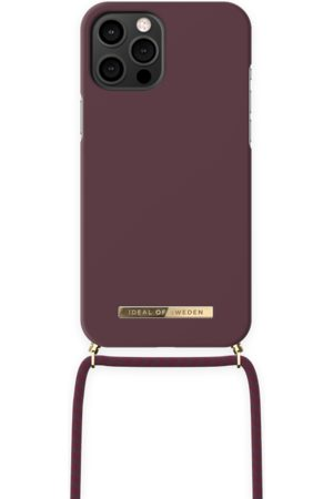 IDEAL OF SWEDEN Ordinary Necklace iPhone 12 PRO MAX Deep Cherry