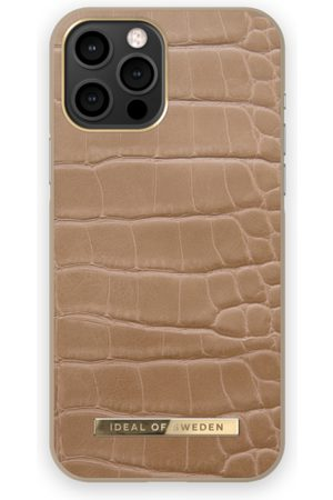 IDEAL OF SWEDEN Atelier Case iPhone 12 PRO MAX Camel Croco