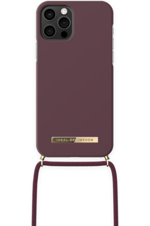 IDEAL OF SWEDEN Ordinary Necklace iPhone 12 Pro Deep Cherry