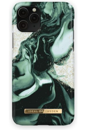 IDEAL OF SWEDEN Fashion Case iPhone 11 Pro Golden Olive Marble