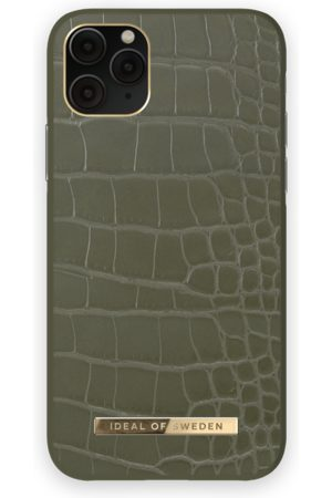 IDEAL OF SWEDEN Atelier Case iPhone 11 Pro Khaki Croco