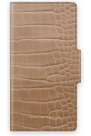 IDEAL OF SWEDEN Atelier Wallet iPhone 12 Mini Camel Croco