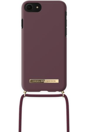 IDEAL OF SWEDEN Ordinary Necklace iPhone 8 Deep Cherry