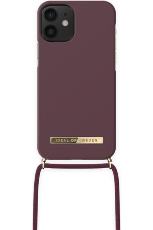 IDEAL OF SWEDEN Telefoon - Ordinary Necklace iPhone 12 MINI Deep Cherry