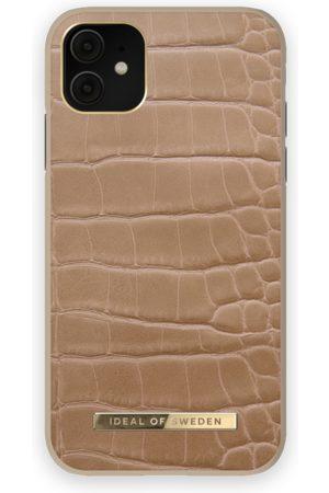 IDEAL OF SWEDEN Atelier Case iPhone 11 Camel Croco