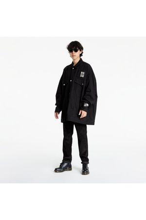 RAF SIMONS Oversized Denim Jacket Black