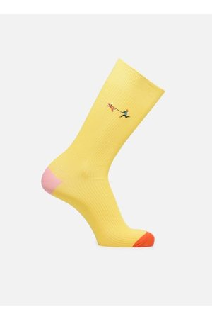 Happy Socks Ribbed Embrodiery Run The Dog by