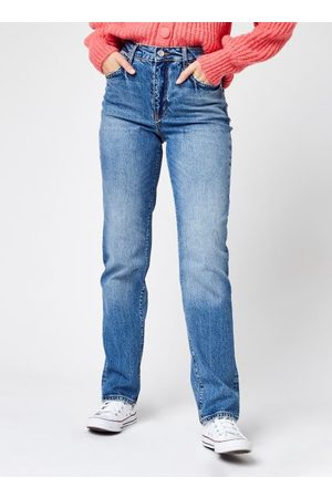 Pieces Pcelan Hw Straight Flared Jeans by