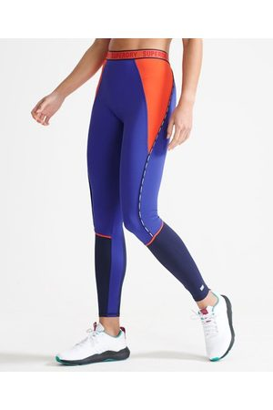 Superdry Sport Elastische strakke legging met Train-merklogo
