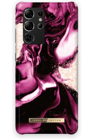 IDEAL OF SWEDEN Telefoon - Fashion Case Galaxy S21 Ultra Golden Ruby