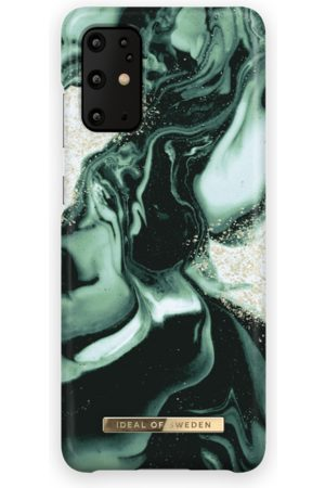 IDEAL OF SWEDEN Telefoon - Fashion Case Galaxy S20 Plus Golden Olive Marble