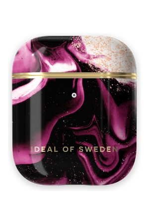 IDEAL OF SWEDEN Telefoon - Fashion AirPods Case Golden Ruby