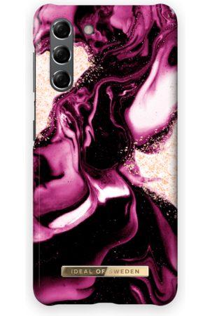 IDEAL OF SWEDEN Telefoon - Fashion Case Galaxy S21 Golden Ruby