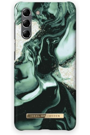 IDEAL OF SWEDEN Telefoon - Fashion Case Galaxy S21 Golden Olive Marble