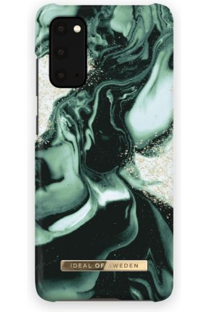IDEAL OF SWEDEN Telefoon - Fashion Case Galaxy S20 Golden Olive Marble