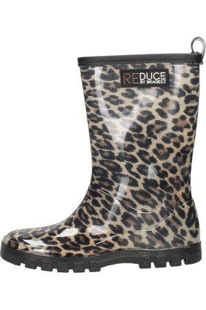 Reduce By Braqeez Rainboot Leopard