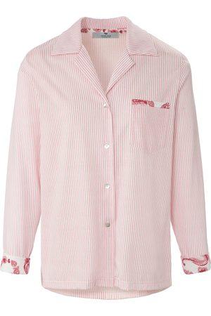 Peter Hahn Dames Pyjama's - Pyjamashirt 100% katoen Van PURE EDITION