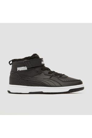Puma Rebound joy fur sneakers kinderen