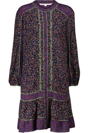 Veronica Beard Dames Geprinte jurken - Xanita floral minidress