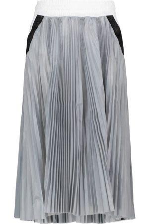 Nike X sacai pleated midi skirt