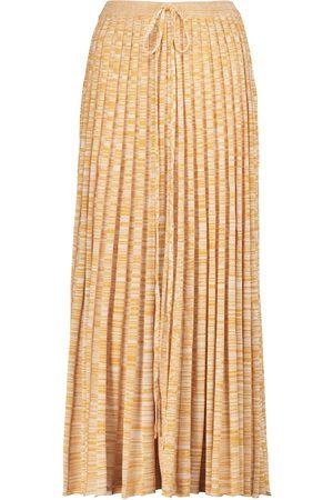 CHRISTOPHER ESBER Ribbed-knit midi skirt