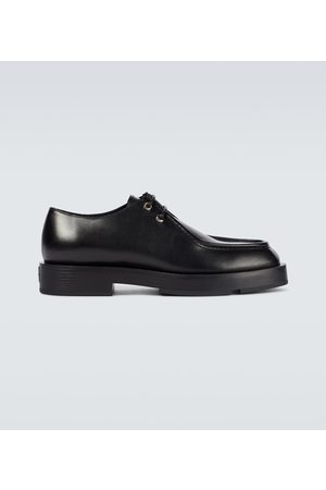 Givenchy Squared box leather Derby shoes