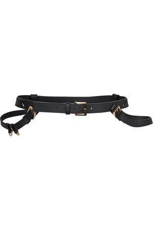 Jacquemus La Ceinture Baudrier leather belt