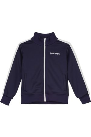 Palm Angels Zipped logo sweatshirt