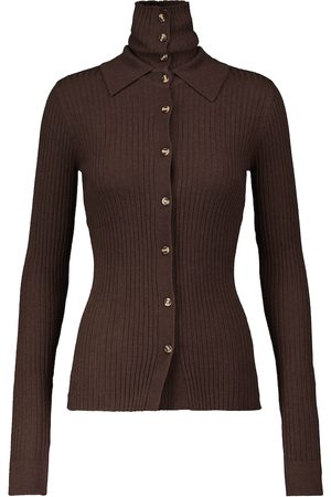 DODO BAR OR Ribbed-knit cardigan