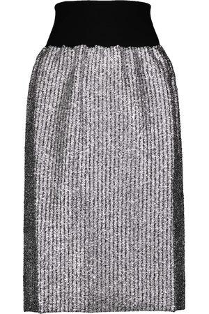 Moncler Genius 2 MONCLER 1952 lurex® wool-blend midi skirt