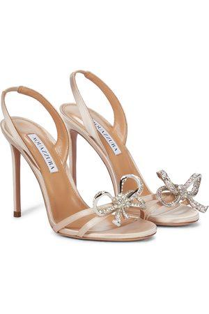 Aquazzura Dames Sandalen - Babe 105 embellished sandals