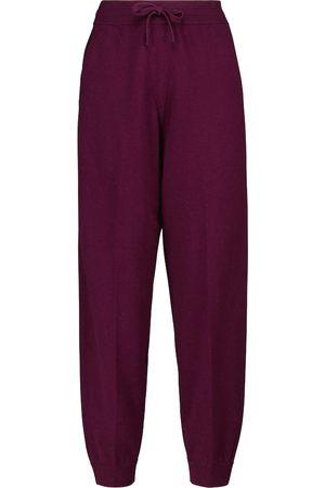 Isabel Marant Kira wool and cotton-blend sweatpants