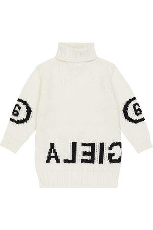 MM6 Maison Margiela Kids Intarisa wool-blend sweater dress