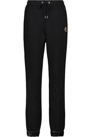Moncler Stretch-cotton sweatpants