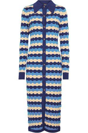 DODO BAR OR Jacquard knit midi dress