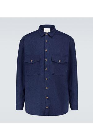 King & Tuckfield Long-sleeved denim overshirt