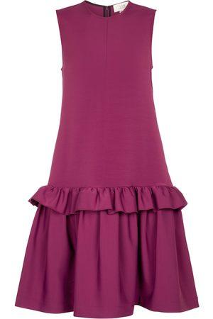 Victoria Victoria Beckham Stretch-twill midi dress