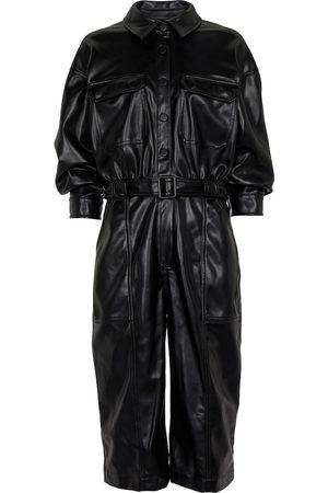 JONATHAN SIMKHAI Kayley faux leather jumpsuit