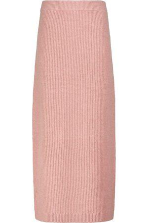 Altuzarra Wetherby merino wool-blend midi skirt