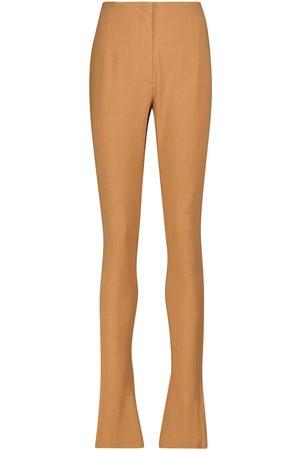 Jacquemus Le Pantalon Obiou high-rise flared pants