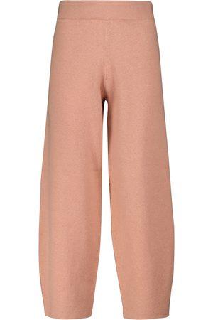 Proenza Schouler White Label cotton-blend knit sweatpants