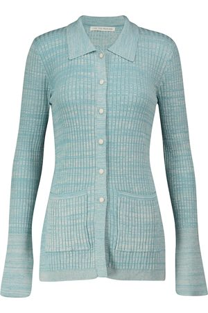 LIVE THE PROCESS Marl buttoned knit cardigan